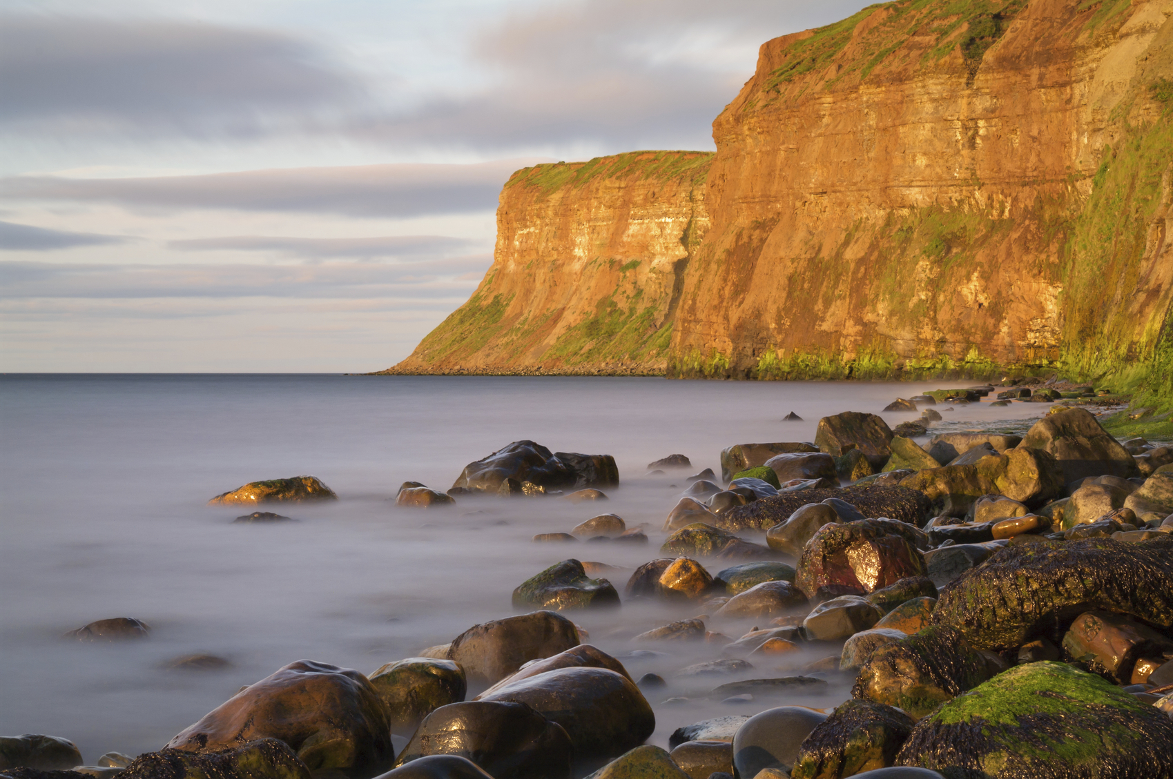 Hunt Cliff or Huntcliff at Saltburn by-the-sea.